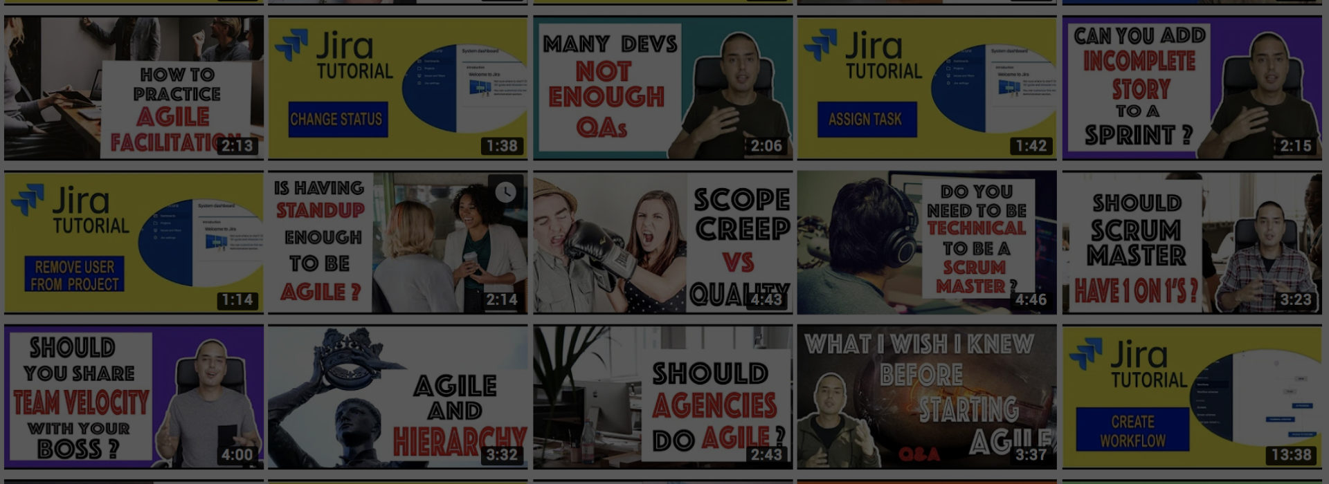 FREE Agile Training Videos